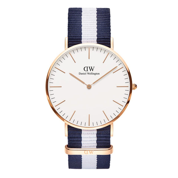 Unisex Daniel Wellington Glasgow Gold 40mm DW00100004
