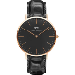 Daniel Wellington Classic Black Reading 40mm Watch DW00100129