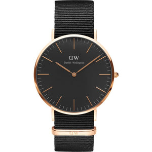 Daniel Wellington Classic Black Cornwall 40mm Watch DW00100148