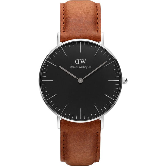 Unisex Daniel Wellington Classic Black Durham Watch 36mm DW00100144