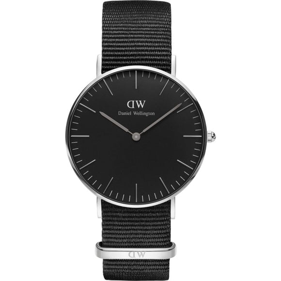 Daniel Wellington Classic Black Cornwall 36mm Watch DW00100151