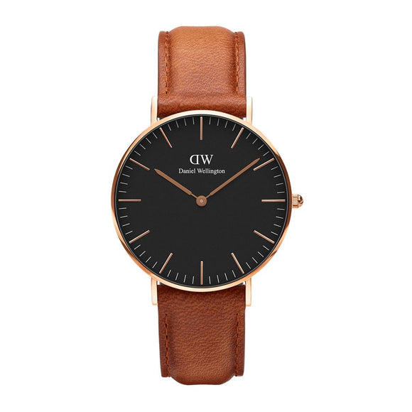 Unisex Daniel Wellington Classic Black Durham Watch 36mm DW00100138