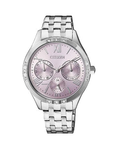 Citizen Ladies Quartz Stainless Steel Wr50 Watch ED8170-56X