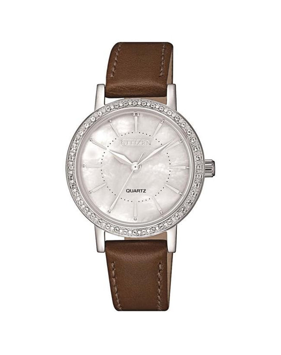 Citizen Ladies Quartz EL3040-12D Mother of Pearl Watch