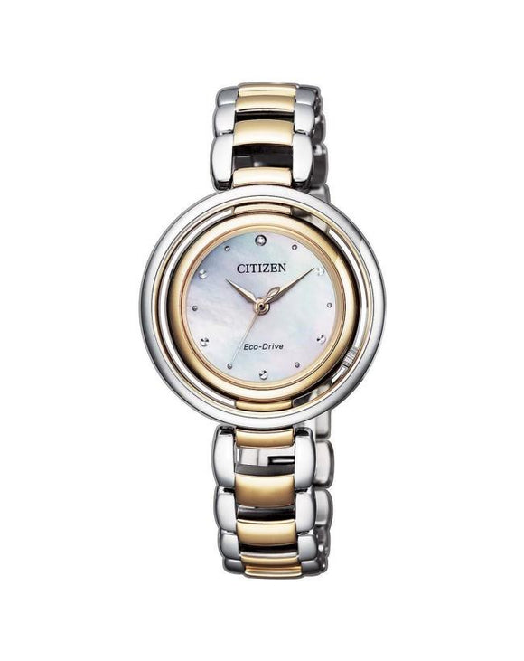 Citizen EM0666-89D Ladies Eco-Drive Diamond Watch