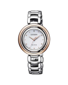 Citizen EM0668-83A Ladies Eco-Drive Diamond Watch
