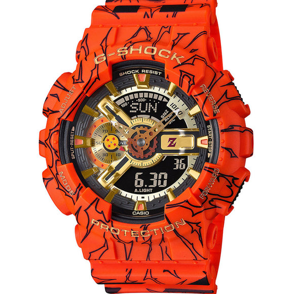 Casio  G-SHOCK DRAGON BALL Z GA110JDB-1A4 COLLABORATION MODEL LIMITED EDITION WATCH