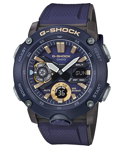 G-Shock Duo Carbon Core Guard World Time GA2000-2A