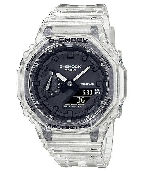 Casio G-Shock GA2100SKE-7A Semi-Transparent Case Carbon Core