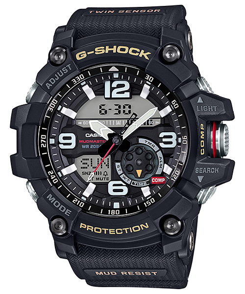 Casio G-Shock Twin Sensor MASTER OF G MUDMASTER Series GG1000-1ADR