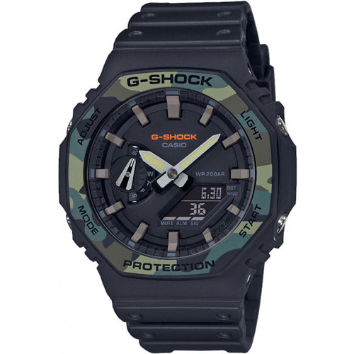 Casio G-SHOCK carbon core guard camouflage GA-2100SU-1AJF