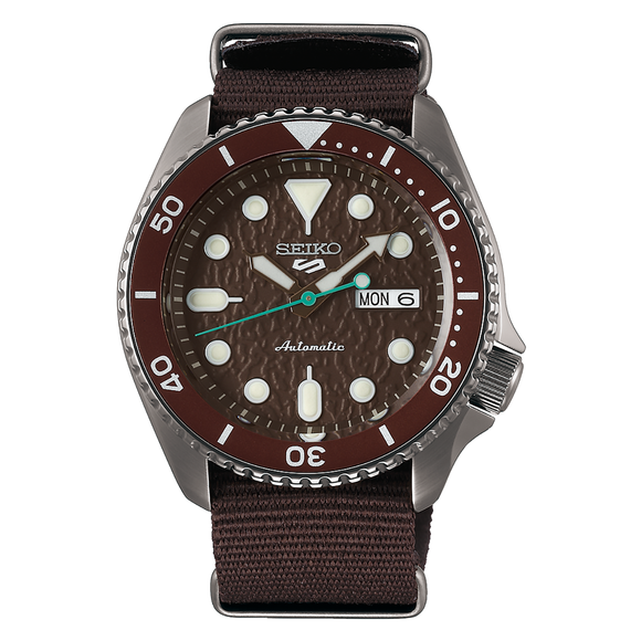 Seiko 5 Sports SRPD85K Automatic Mens Watch