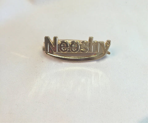 NEESHY GOLD PIN