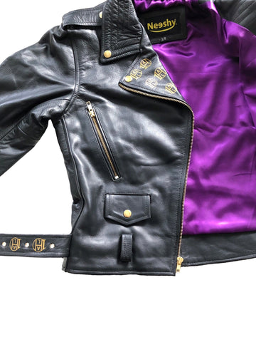 James Dean Biker Leather