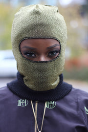 Metallic Ski Mask