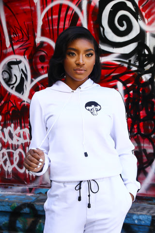 No Questions Females Hoodie Tracksuit