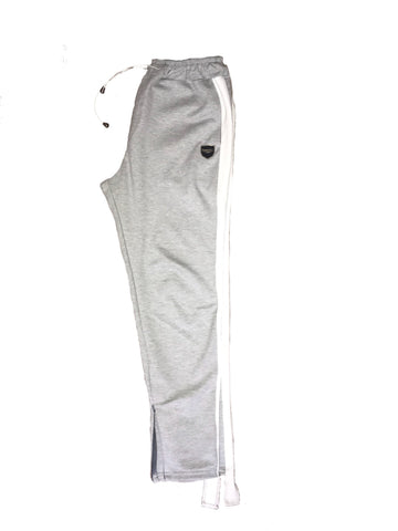 Gray Wise Eyes sweat pants