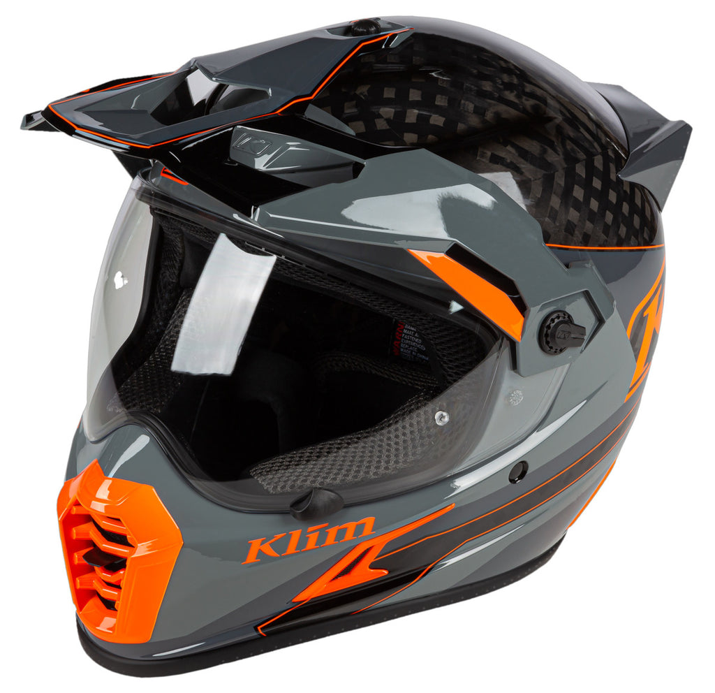 CASCO KLIM KRIOS PRO LOKO STRIKING GRIS 2020