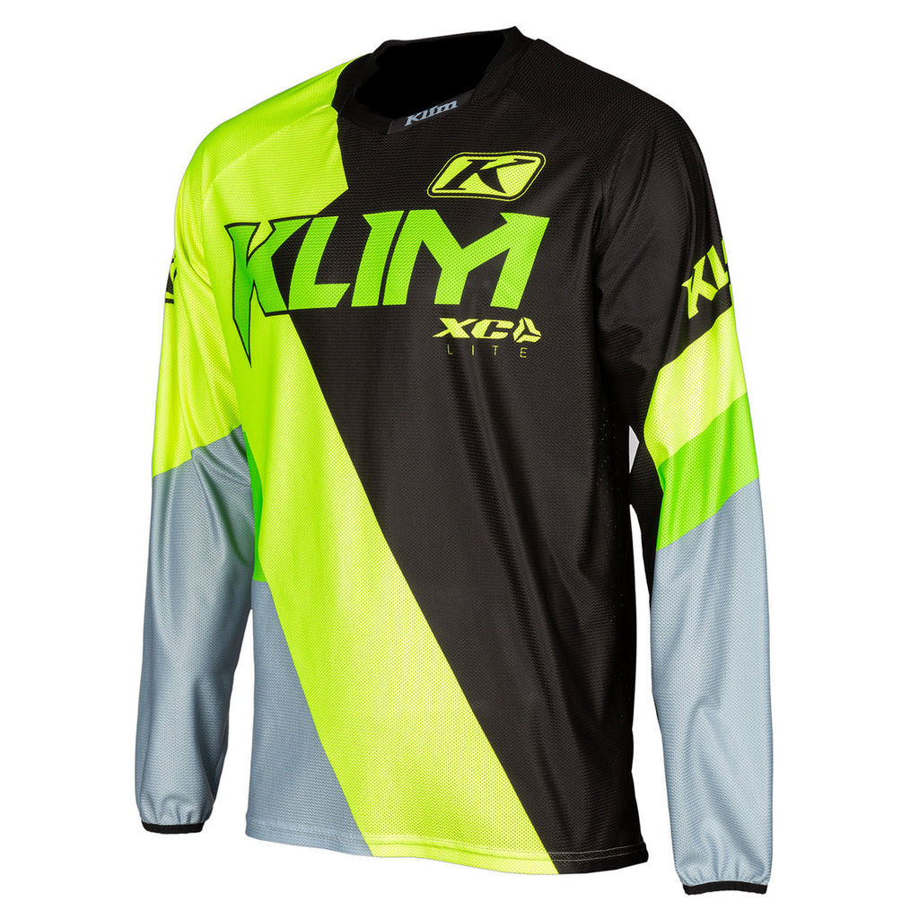JERSEY KLIM XC LITE ELECTRIK LEMONAD JUNIOR 2020