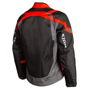 CHAQUETA KLIM INDUCTION NEGRA ROJA ROCK