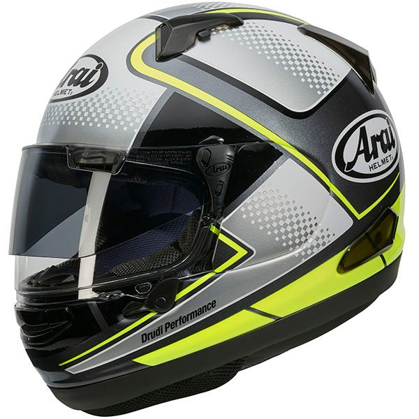 CASCO ARAI QV-PRO BOX YELLOW