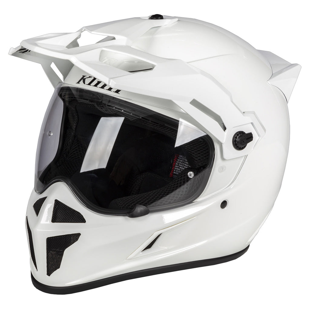 CASCO KLIM KRIOS BLANCO BRILLANTE 2020
