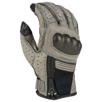 GUANTES KLIM INDUCTION GRIS - AZUL KINETIK 2020