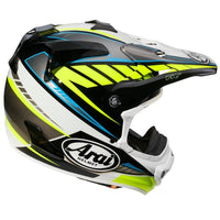 CASCO ARAI MX-V RUMBLE YELLOW