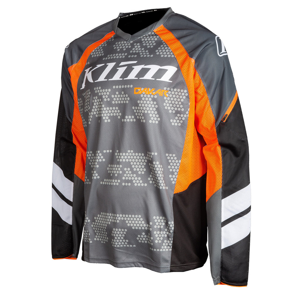 JERSEY KLIM DAKAR GRIS STRIKING 2020