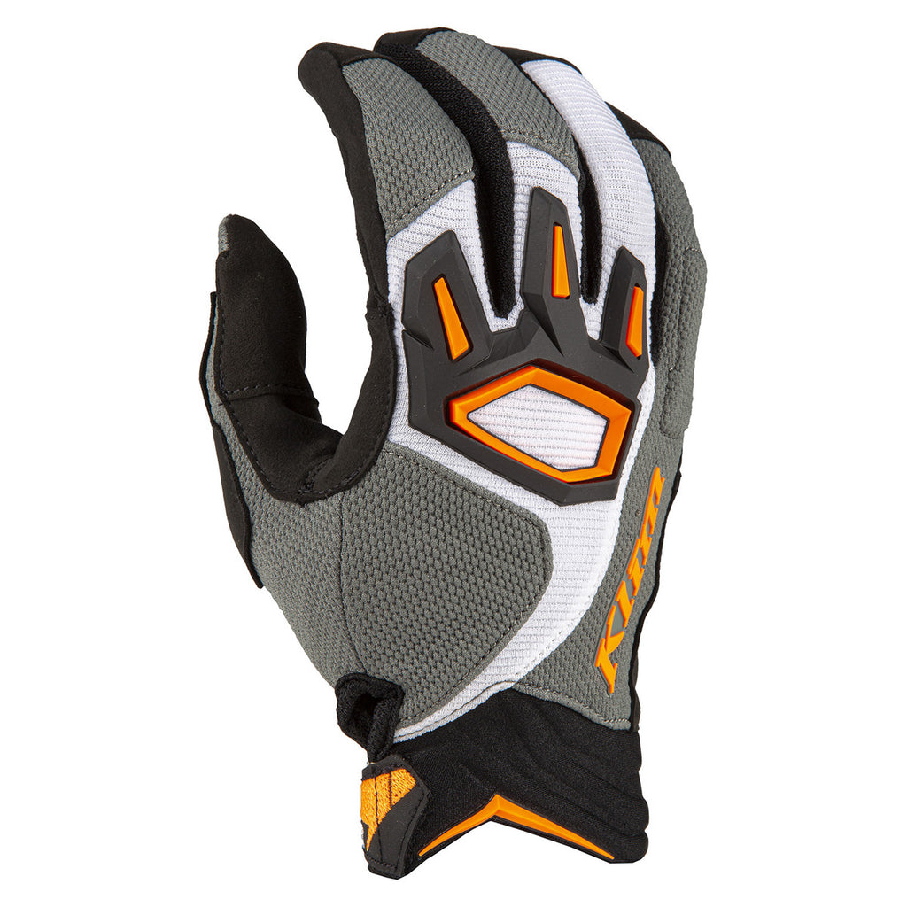 GUANTES KLIM DAKAR GRIS STRIKING 2020