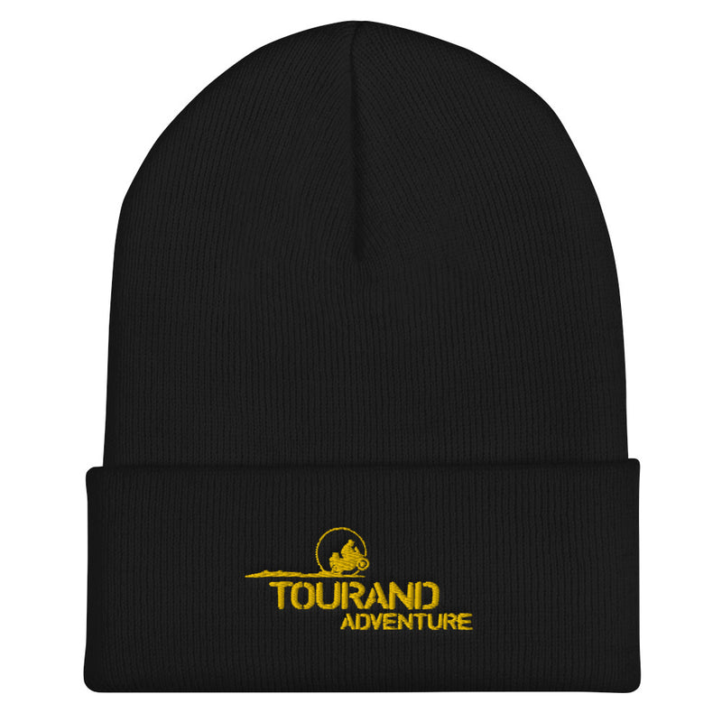 Gorro Negro Adventure Amarillo