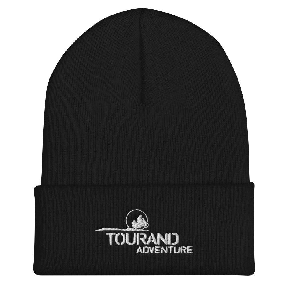 Gorro Negro Adventure Blanco