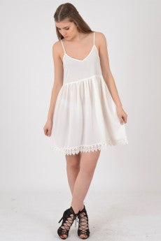 Crotchet Bottom Dress