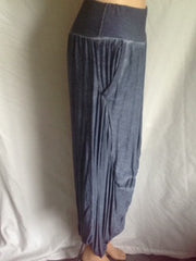 Harem pants with 2 side pockets