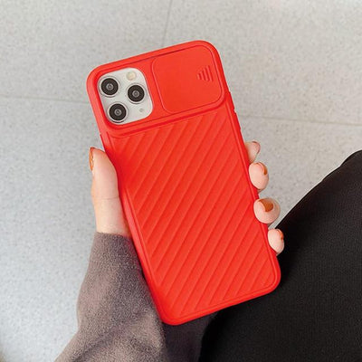 Camera Protection Shockproof Phone Case For iPhone Soft TPU Silicone Back Cover