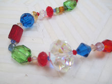 Load image into Gallery viewer, Color Explosion: A Multicolor Swarovski Crystal Necklace from Gemstrings by Phyllis & Terry | Value $50