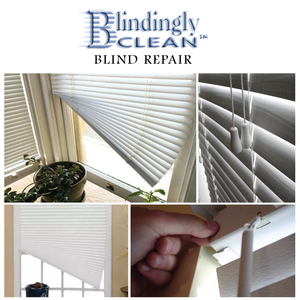 A Window Blind Repair Package From Blindingly Clean | Value $50