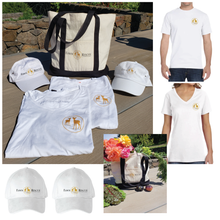 Load image into Gallery viewer, Two Fawn Rescue Icon T-Shirts & Baseball Caps & A Canvas Shopping Tote | Value $140