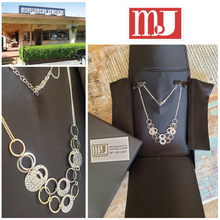 Load image into Gallery viewer, Stunning in Sterling: A One-Of-A-Kind Necklace From Montgomery Jewelers | Value $350