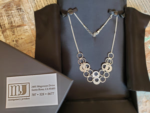 Stunning in Sterling: A One-Of-A-Kind Necklace From Montgomery Jewelers | Value $350