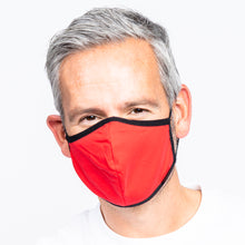 Load image into Gallery viewer, 10 Pack Adult Red Masks