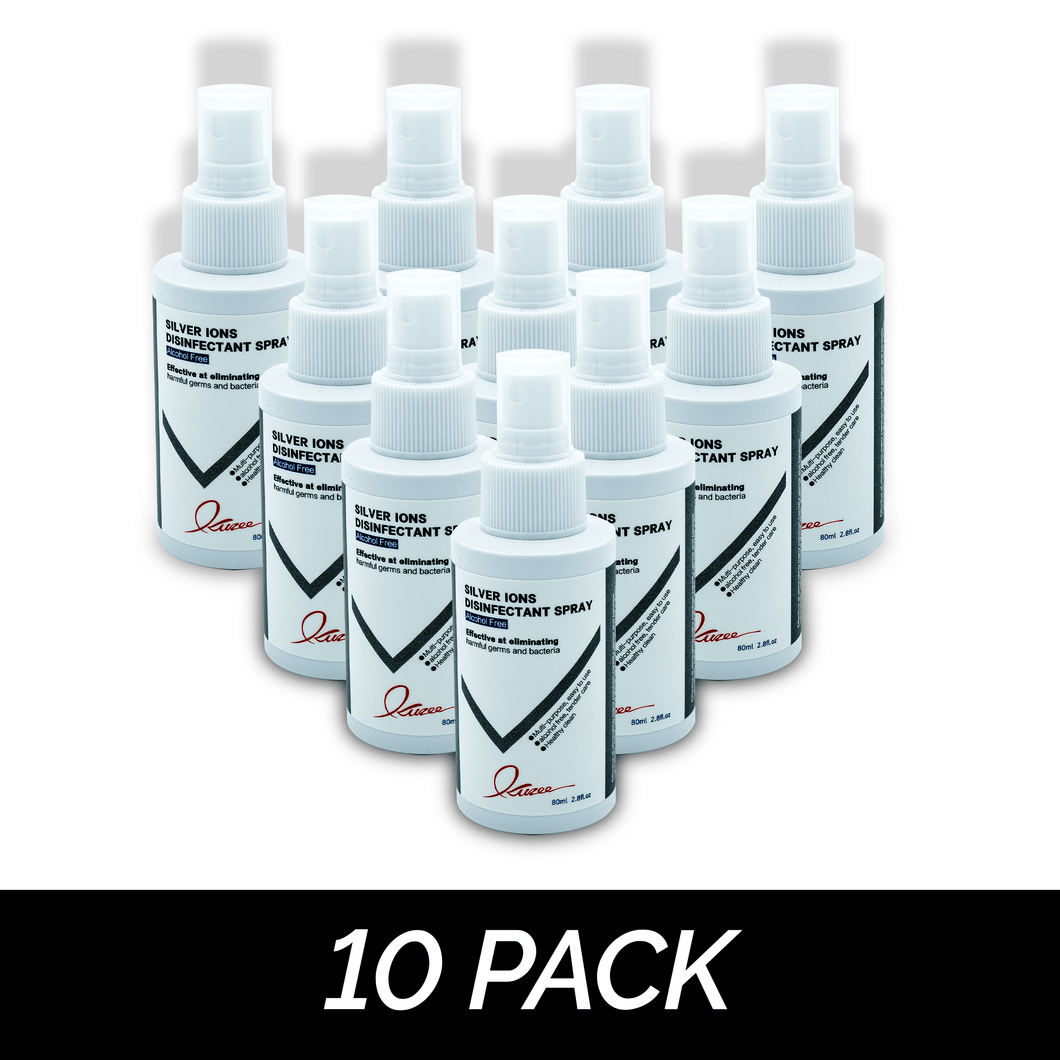10 Pack Silver Ion Spray