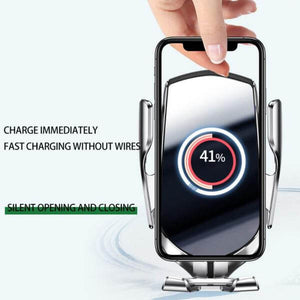 Automatic Wireless Fast Charger & Phone Holder (60% OFF SALE ENDS TODAY!)