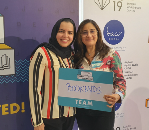 Founders of Bookends: Grace & Somia