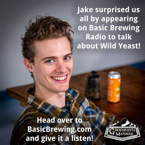 Jake surprised us all by appearing on Basic Brewing Radio to talk about Wild Yeast! Head over to BasicBrewing.com and give it a listen!