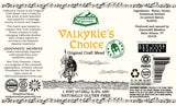 Valkyrie's Choice for Export by Groennfell Mead in support of **New York Dramatic Voices**