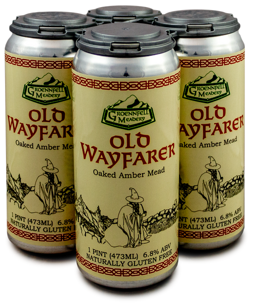 Old Wayfarer Oaked Amber Mead by Groennfell
