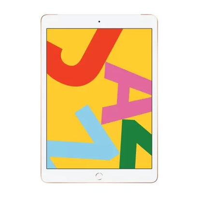 Apple iPad (7th Gen) 128 GB 10.2 inch with Wi-Fi+4G (Gold)