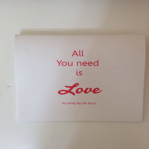 Candy Ng (Ah Shun) - All You Need Is Love