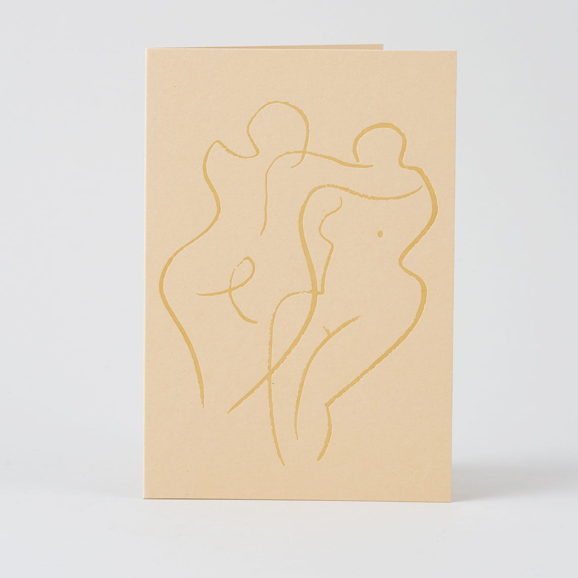 Couple Letterpress Card